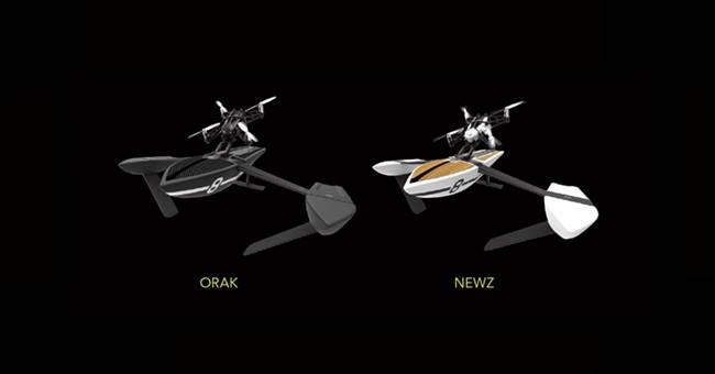 Drone D'acqua-hydrofoil